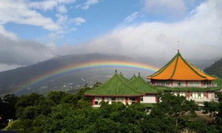 Así fue el arco iris más largo de la historia